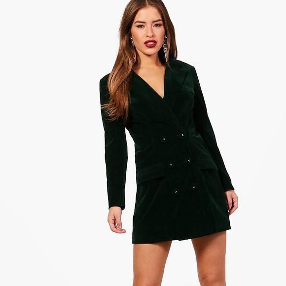 58ce866fb87d2 Boohoo Petite Dresses   Petite Boohoo Blazer Dress In Black Us Size ...